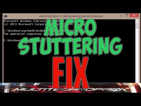 How to FIX Micro Stuttering lag in PC games - tips and trick tutorial Windows 7/8.1/10
