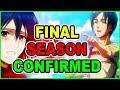 Final Attack on Titan Season 4 CONFIRMED! Ocean Time   Attack on Titan Season 3 Part 2 Episode 10
