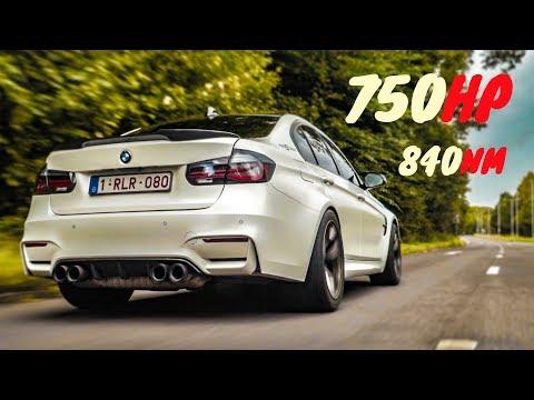 FASTEST BMW F80 M3 IN EUROPE??   750BHP Joyride