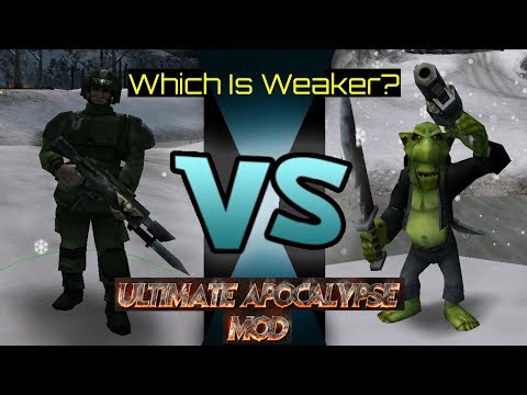 Which Is Weaker? Imperial Conscripts VS Grot Gang In Ultimate Apocalypse Mod