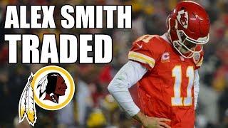 Alex Smith traded to the Redskins