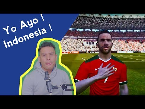Indonesia Vs Islandia 2018 - Ada Spaso !!! - Friendly match ! - Pro evolution soccer !
