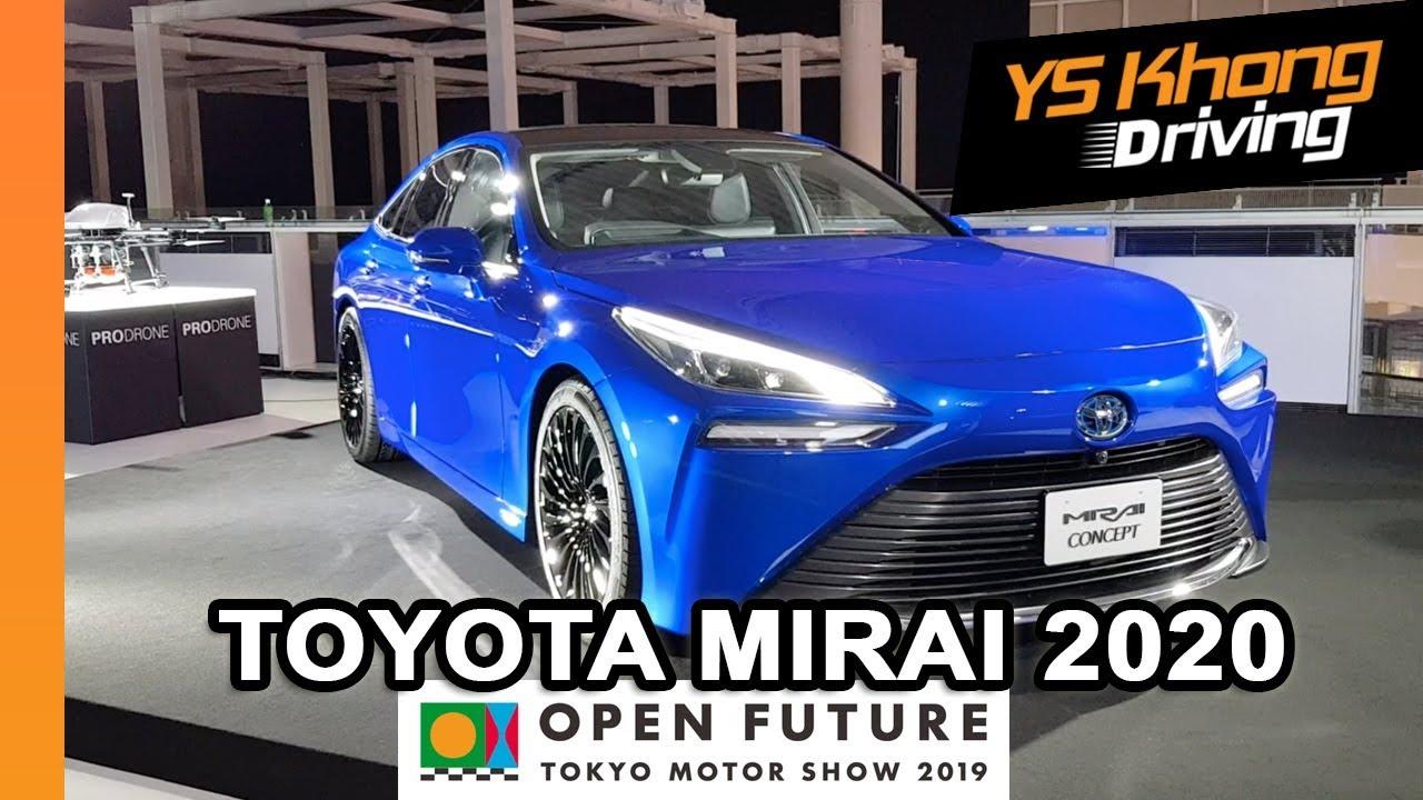 Tokyo Motor Show 2019 Toyota Mirai 2020 Walkaround Review 2nd Gen Hydrogen Fuel Cell Car