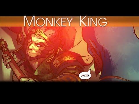 видео: Комикс от valve: monkey king