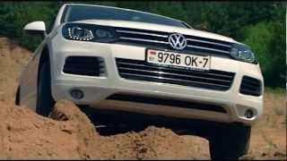 Volkswagen (VW) touareg (2012) тест-драйв(Тест-драйв VW touareg (2012) в программе