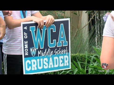 Westminister Christian Academy honors 6th grade class