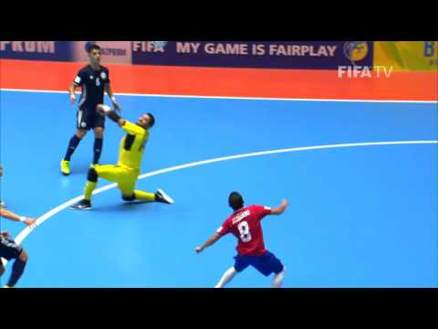 Match 22: Costa Rica v Kazakhstan - FIFA Futsal World Cup 2016