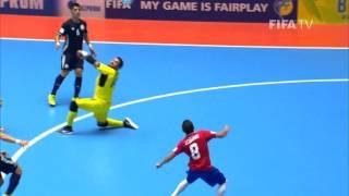 Match 22: Costa Rica v Kazakhstan - FIFA Futsal World Cup 2016