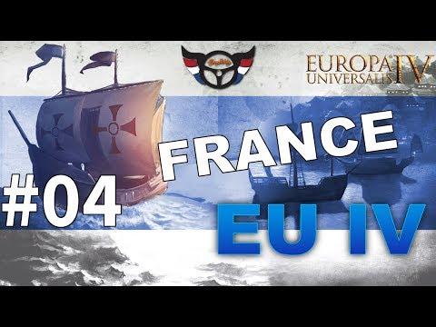 EU4 France - Big Blue Blob Achievement Run - ep4