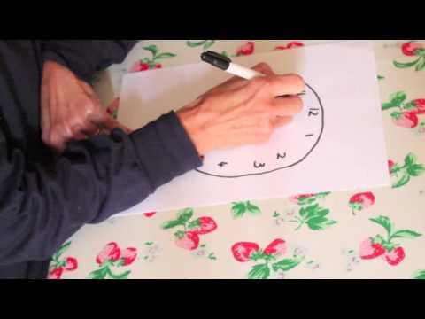 Clock drawing test dementia