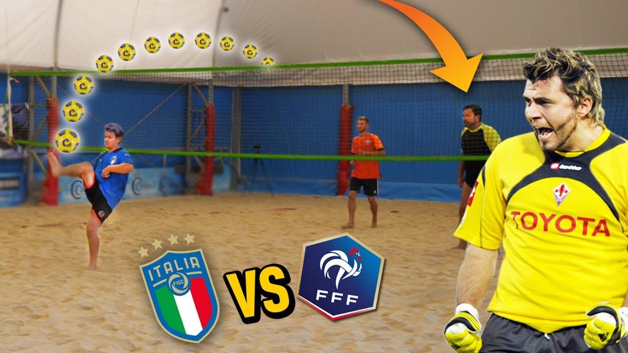🧤⚽️ ITALIA - FRANCIA | FOOTVOLLEY contro SEBA FREY (SERIE A)