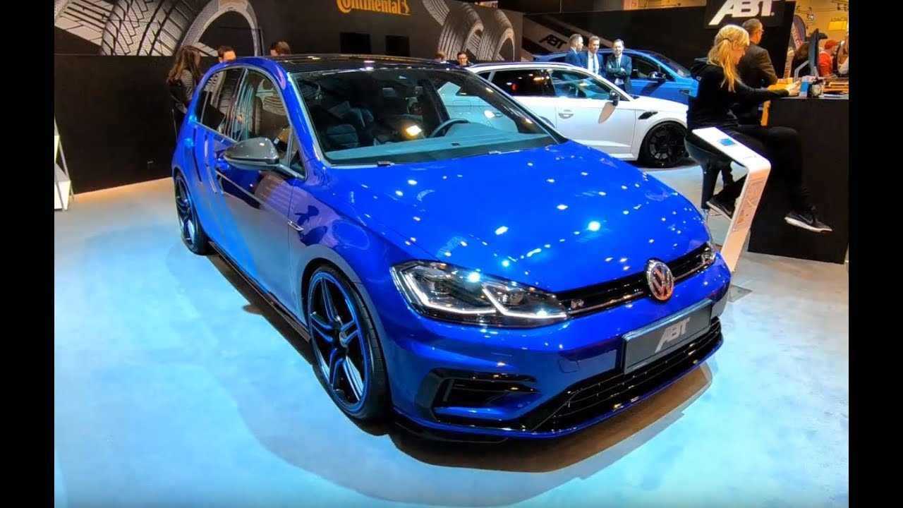 volkswagen golf 7 r line abt tuning show car walkaround new model vw golf vii r lapiz blue youtube. Black Bedroom Furniture Sets. Home Design Ideas