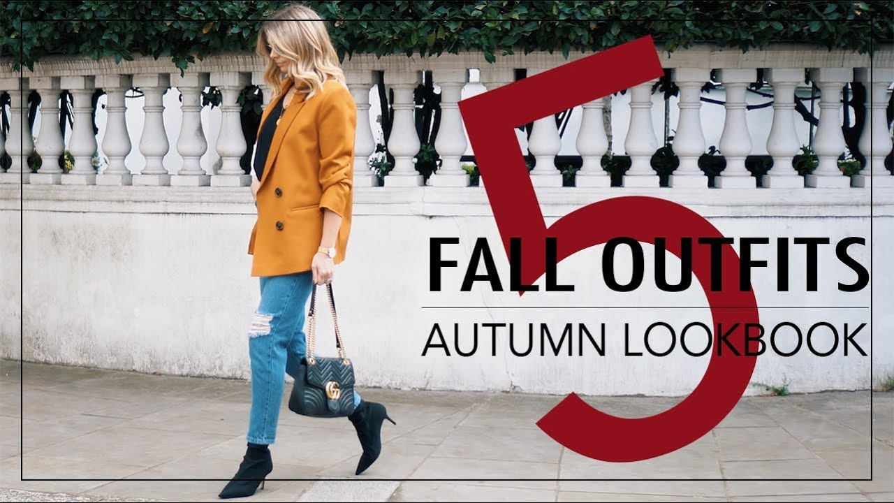 Autumn Lookbook 2017   5 Fall Outfits   Emma Hill 1