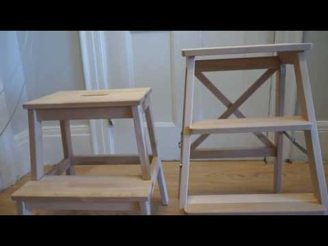Ikea BEKVÄM Stepladder vs Step Stool & Ikea BEKVÄM Stepladder vs Step Stool - YouTube islam-shia.org