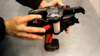видео Пистолеты для вязки арматуры MAX Япония