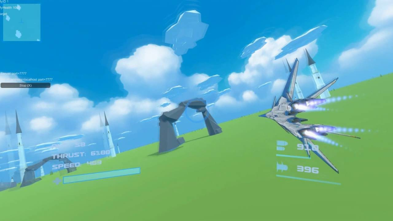 Aceonline/Airrivals in Unity Toon shader by Zhao Ymin