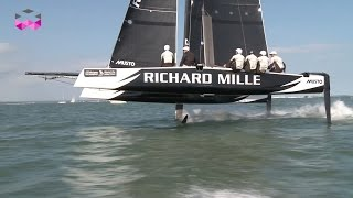 Richard Mille and a flying GC32 catamaran for the Around the island race