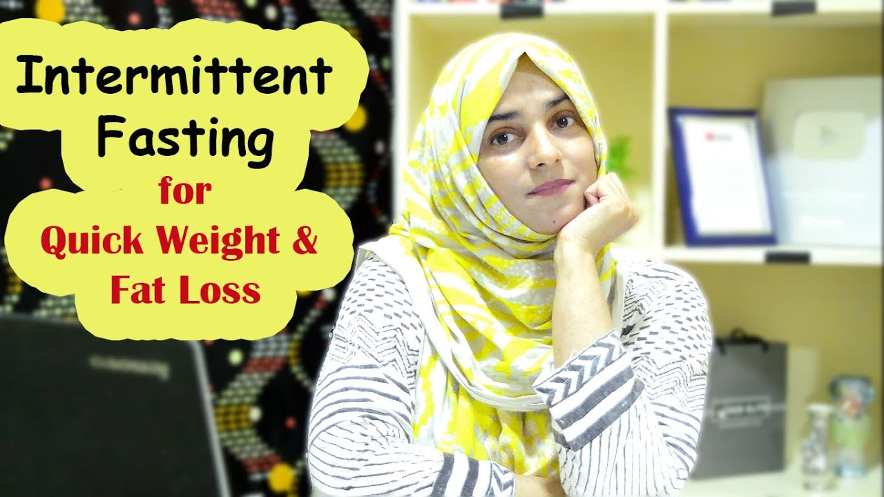 Intermittent Fasting for Quick Weight & Fat Loss    ll   Lose 2-3Kgs in 7days