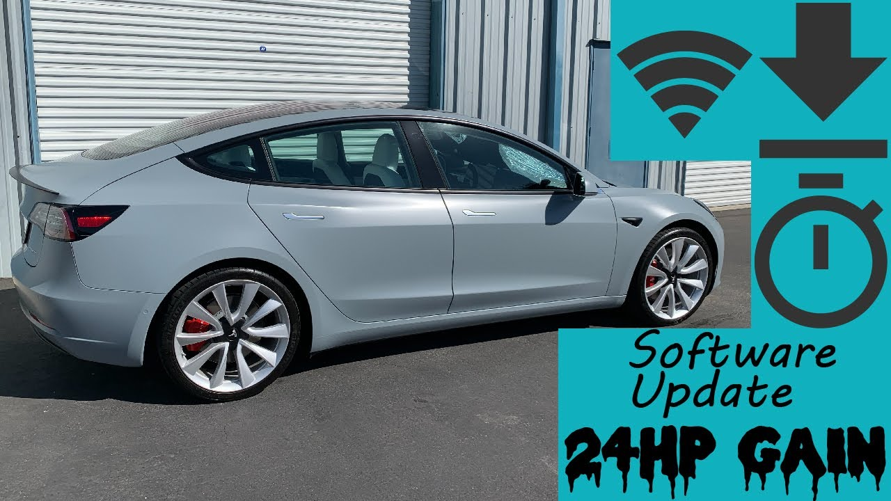 Tesla Model 3 downloads 24 Horsepower 0-60 Testing - YouTube