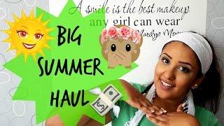 Big summer Haul ❤  مشترياتي خلال فصل الصيف