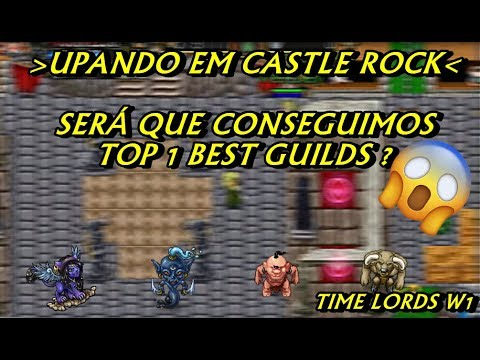 Upando em Castle Rock visando top 50 de guilds W1.