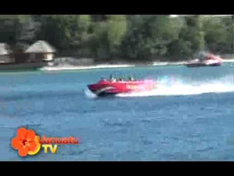crazy jetboats in Vanutau