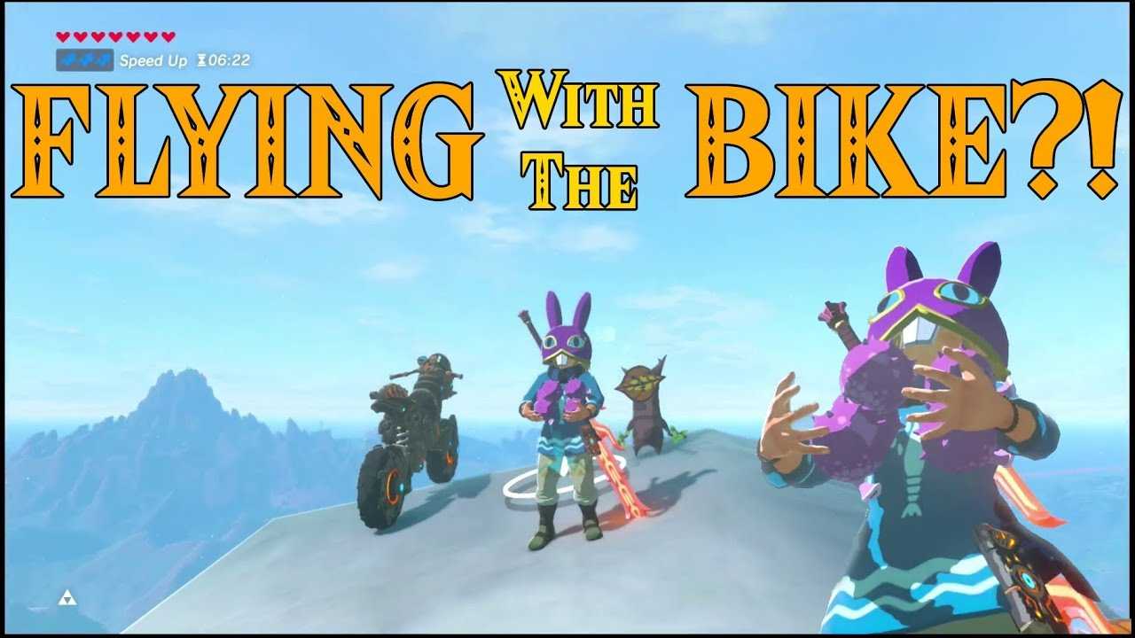Flying With The Bike What Can Go Wrong In Zelda Breath Of The