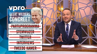 Geert Wilders concreet - sunday with lubach