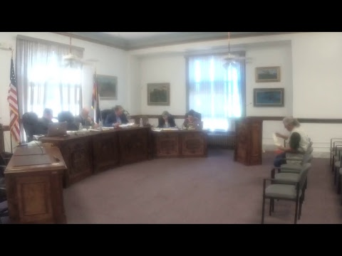 Las Animas County Board of County Commissioners, August 15, 2017