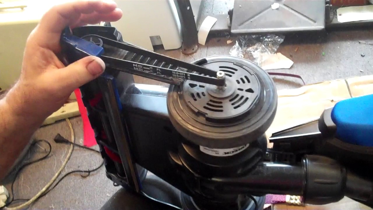 How To Replace Belt Oreck Magnesium Vac Sew Dr Modesto