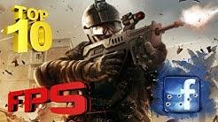 Top 10 Free FPS GAMES Facebook
