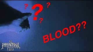 👻ultraviolet flashlight reveals (BLOOD?) unknown substance on hotel room walls [WHAT IS IT??] 👻