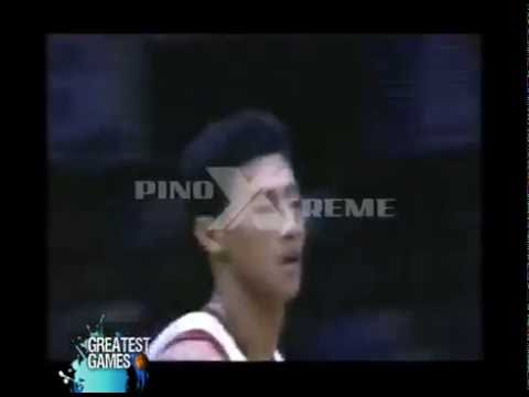 Danny Ildefonso vs. Alvin Patrimonio (1999 PBA All-Filipino Cup)