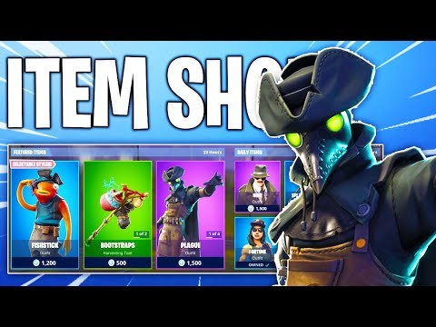 Fortnite Item Shop! PLAGUE OUTFITS! Daily & Featured Items!