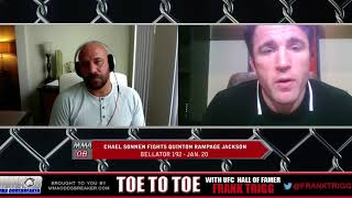 Frank Trigg pre-fight interview with Bellator 192's Chael Sonnen