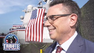 Michael Cole describes the feeling of bringing WWE Tribute to the Troops back to a military base