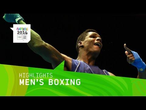 Cuba Wins Men's Heavyweight Boxing Gold - Highlights | Nanjing 2014 Youth Olympic Games