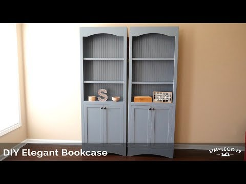 DIY Bookcase Project | Woodworking Project