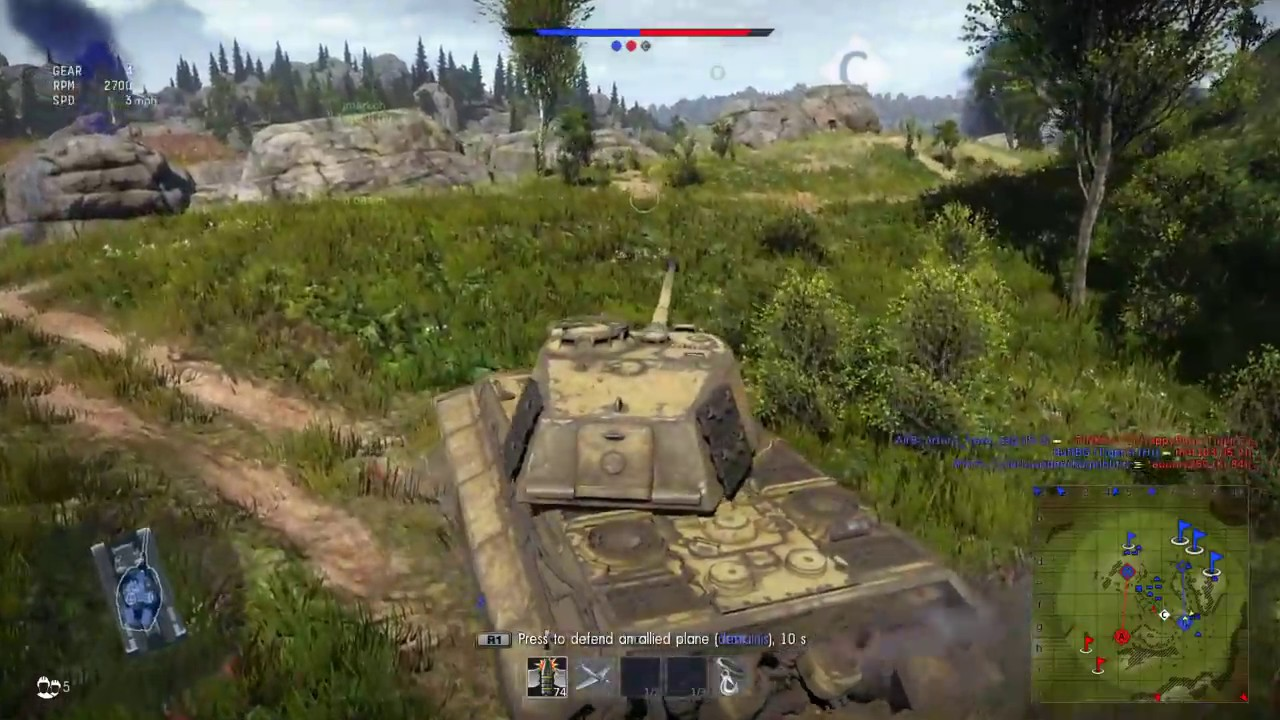 War Thunder Tiger II H Gameplay (No Commentary) - YouTube