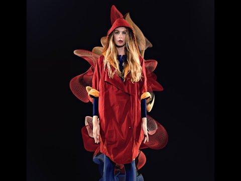 "Qrafik dizayner Florin Veberin ""Volumetric Clothing"" layihəsi."