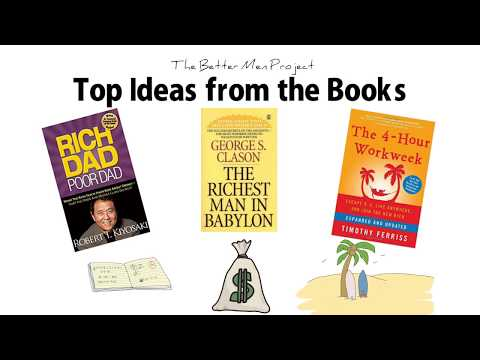 Top 3 Wealth Books  | Top Ideas Rich Dad Poor Dad, Richest Man In Babylon, The 4 Hour Workweek