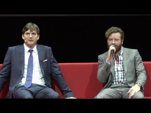 The Ranch @ Netflix  full press conference Paris 2016 Ashton Kutcher Danny Masterson