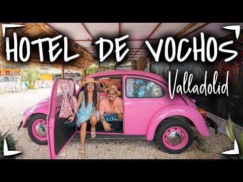 Vocho Hotel Yucatan Valladolid
