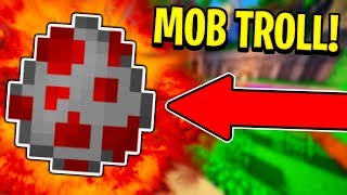 RANDOM MOB TROLL (Minecraft Skywars)