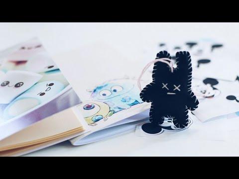 Cмотреть онлайн DIY 23 / брелок и блокноты легко и просто / Много призов / 5 победителей