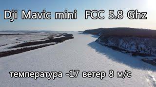 Полет на Dji mavic mini FCC 5.8 Ггц. Река Амур. Природа. Обзор.