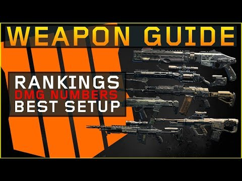 Ultimate Weapon Guide Blackout (DMG numbers & Rankings) Black Ops 4