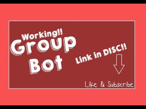 ROBLOX Group PM Bot |Working 2017|