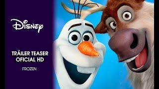 Repeat youtube video Disney España | Teaser Tráiler 'Frozen, el reino del hielo'