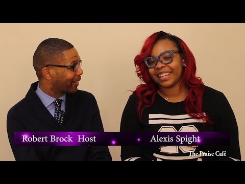 Alexis Spight on The Praise Cafe TV Show